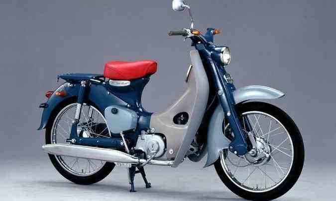 O modelo pioneiro permitiu o crescimento da marca mundialmente(foto: Honda/Divulgação)