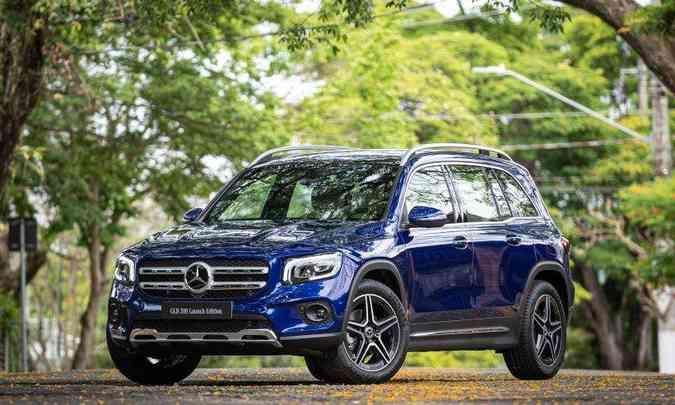 O Mercedes-Benz GLB 200 Launch Edition já está a venda nas concessionárias da marca por R$ 299.900(foto: Mercedes-Benz/Divulgação)