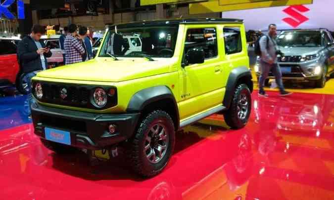 Nova geração do Suzuki Jimny será importada do Japão a partir do segundo semestre de 2019(foto: Pedro Cerqueira/EM/D.A Press)