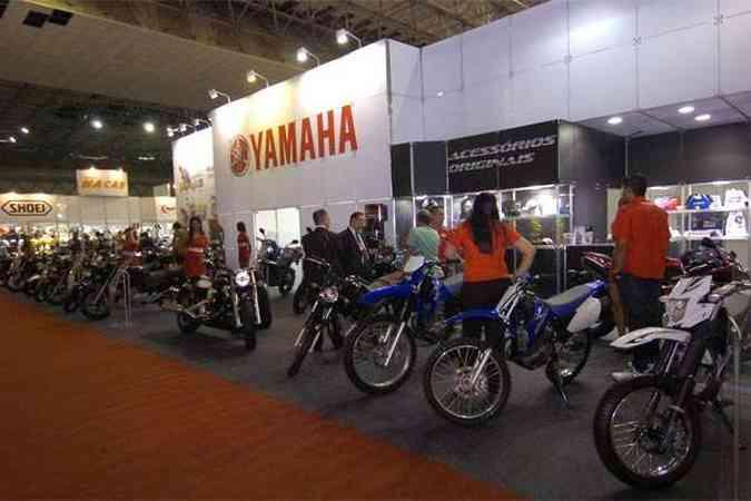 Salão das Motos de Minas será realizado de 29 de marco a 1º de abril de 2012, no Expominas no bairro Gameleira(foto: Jair Amaral/EM/D.A Press)