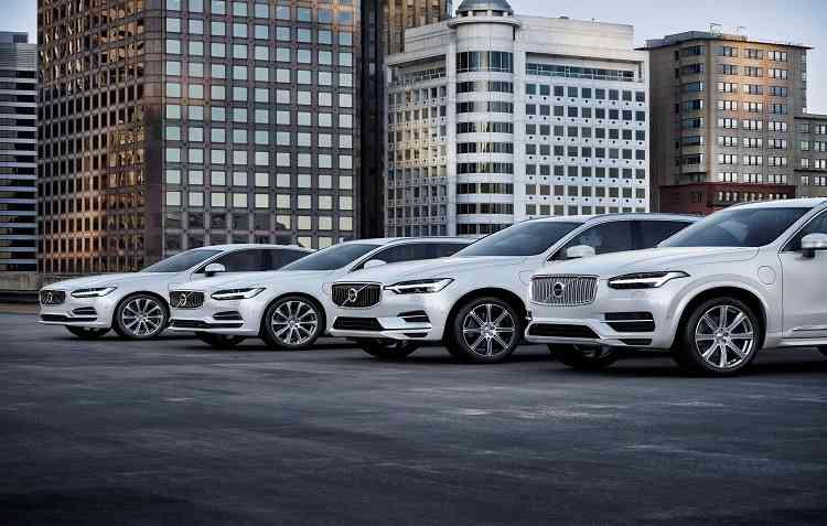 Modelo será produzido na fábrica dos Estados Unidos sobre a plataforma modula SPA. Foto: Volvo / Divulgação -