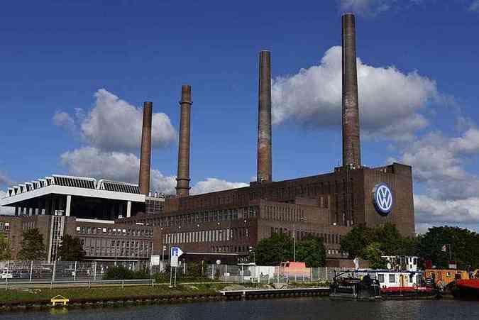 Fábrica da Volkswagen em Wolfsburg, na Alemanha(foto: AFP PHOTO / JOHN MACDOUGALL )