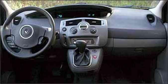 Quadro de instrumentos digital tira atenção do motorista(foto: Fotos: Marlos Ney Vidal/EM/D. A Press - 8/4/08)