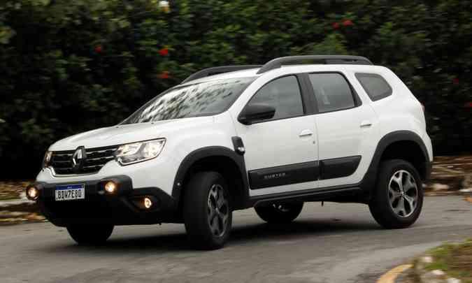 Renault Duster: SUV compacto passou apenas por discreta reestilização(foto: Adriano Sant'Ana/EM/D.A Press)