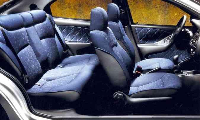 Interior do Fiat Brava(foto: Fiat/Divulgação)