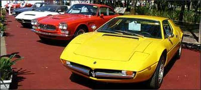 Spazio Italia- Entre os esportivos italianos, destaque para as Alfas