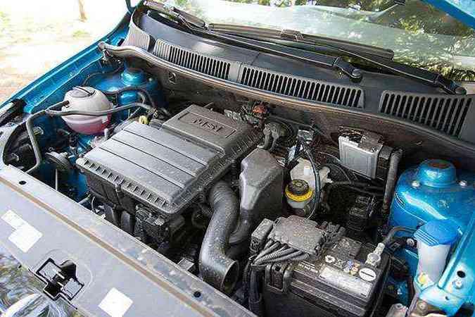 Motor 1.6 dispensa o tanquinho e rende até 120cv(foto: Thiago Ventura/EM/D.A Press)