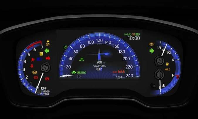 A versão Altis 2.0 Premium tem quadro de instrumentos com tela TFT de sete polegadas (era de 4,2 polegadas)(foto: Toyota/Divulgação)
