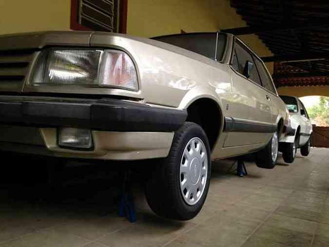 Del Rey 1988 está com os pneus originais de fábrica(foto: Júlio Raridades/Divulgação)