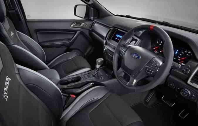 Controles no volante para facilitar o uso dos comandos(foto: Ford/ Divulgação)