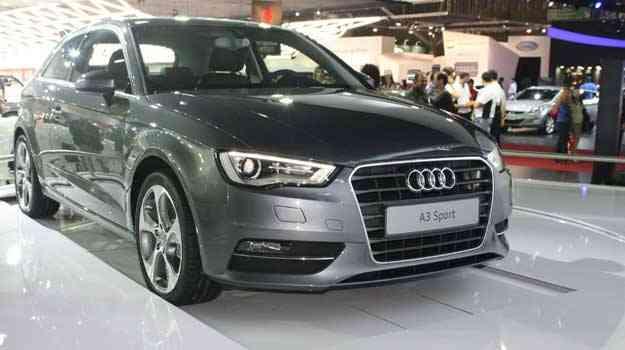 Novo Audi A3 Sport chega em fevereiro ao mercado brasileiro   -  Marcello Oliveira/EM/D.A PRESS