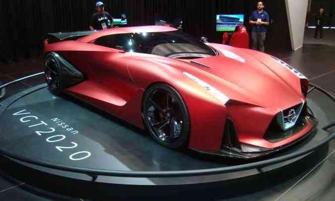 Nissan Concept 2020 Vision Gran Turismo(foto: Bruno Freitas/EM/D.A Press)