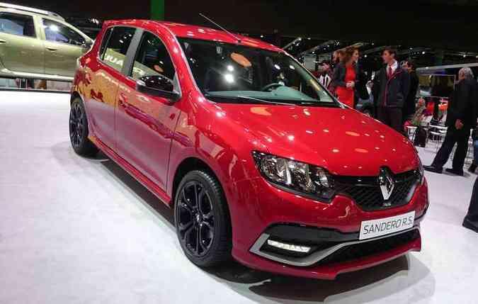 Renault mostrou versão mais apimentada(foto: Jorge Moraes/ DP/ DA Press)