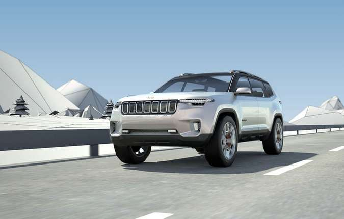 Novidade tem conceito já apresentado na China. Plataforma é a mesma que o Cherokee. Foto: Jeep / Divulgação