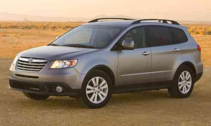 Subaru Tribeca(foto: Divulgação/Subaru)