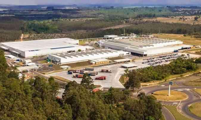 Fábrica de motores da VW em São Carlos, no interior paulista(foto: Volkswagen/Divulgação)
