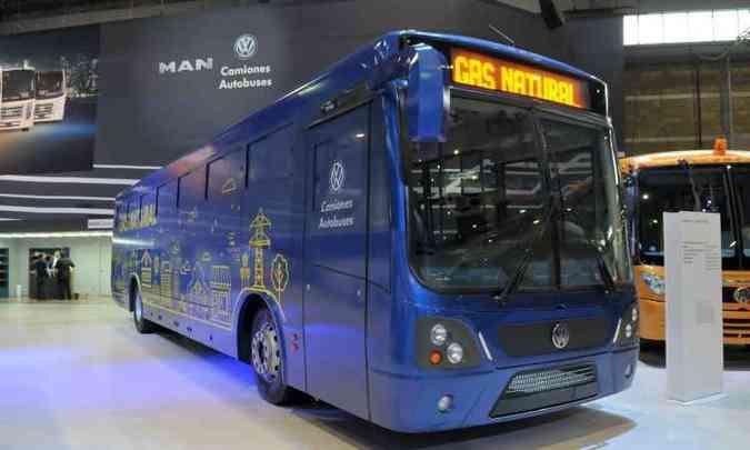 17.280 OT é o primeiro ônibus movido a gás da MAN voltado ao México(foto: Divulgação/MAN)