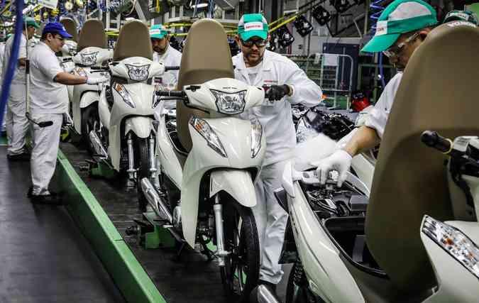 Fábrica da Honda em Manaus deve manter boas negociações e receber incentivos oriundos do Governo Federal. FOTO: Honda / Divulgação (foto: Fábrica da Honda em Manaus deve manter boas negociações e receber incentivos oriundos do Governo Federal. FOTO: Honda / Divulgação )