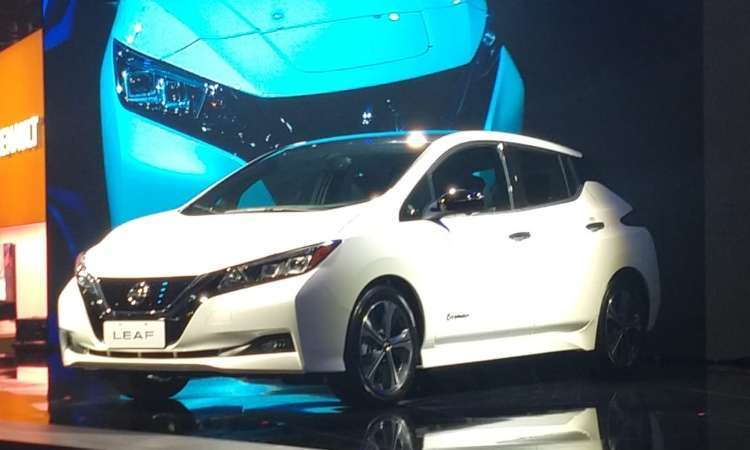 O elétrico Nissan Leaf chega ao Brasil no ano que vem por R$ 178.400 - Pedro Cerqueira/EM/D.A Press