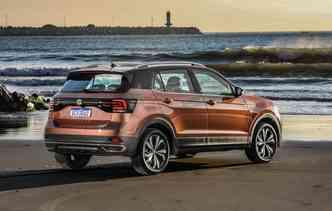 Modelo ainda recebeu Advanced Award por proporcionar danos mínimos à pedestre em caso de colisão. Foto: Volkswagen / Divulgação