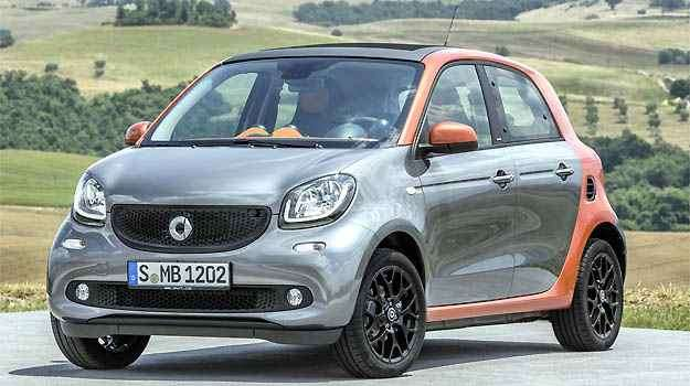 Smart ForFour -