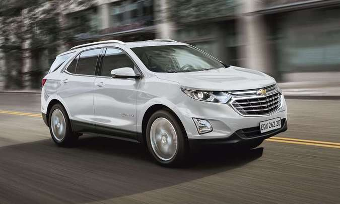 O SUV médio Chevrolet Equinox, produzido no México, passa a ser vendido somente na versão 1.5 Premier(foto: Chevrolet/Divulgação)