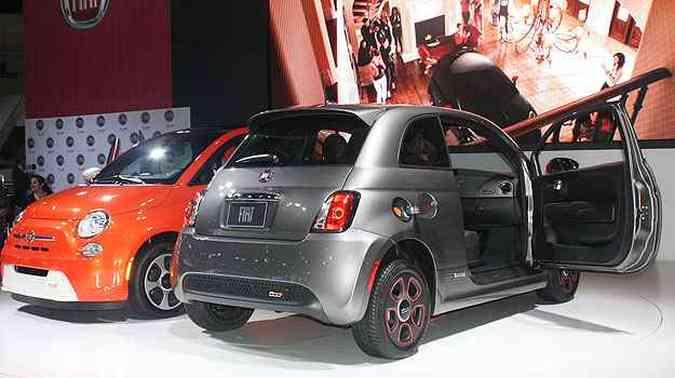Fiat 500e(foto: Marcello Oliveira/EM/D.A Press)