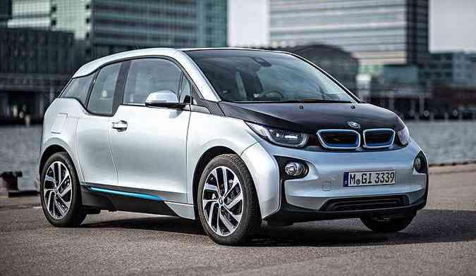 BMW i3 é único elétrico vendido no Brasil(foto: BMW/divulgação )
