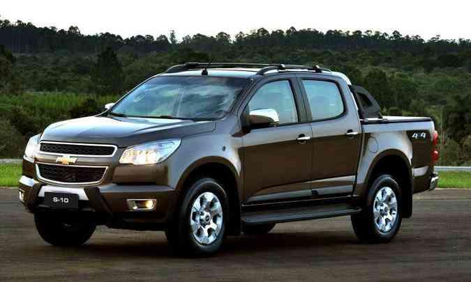 Segunda geração foi lançada em 2012, alinhada com a irmã americana Colorado(foto: Chevrolet/Divulgação)