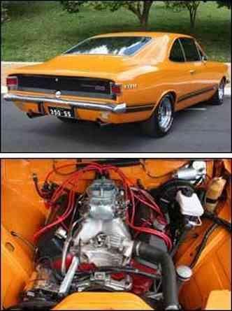 Motor original foi substituído pelo V8 do Camaro, de 380cv(foto: Marlos Ney Vidal/EM)