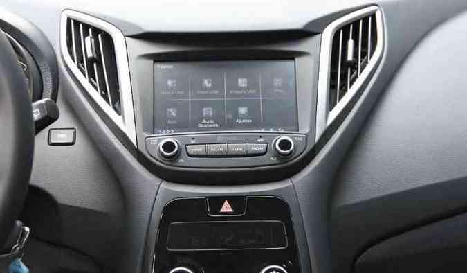 Sistema multimídia eficiente está na lista de itens opcionais(foto: Marlos Ney Vidal/EM/D.A Press)