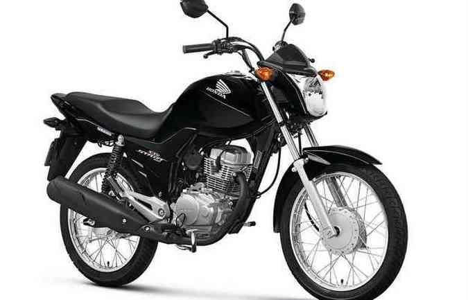 A moto tem design semelhante e a mesma base técnica da linha CG(foto: Honda/ divulgação)