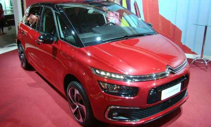 Citroën C4 Picasso(foto: Bruno Freitas/EM/D.A Press)