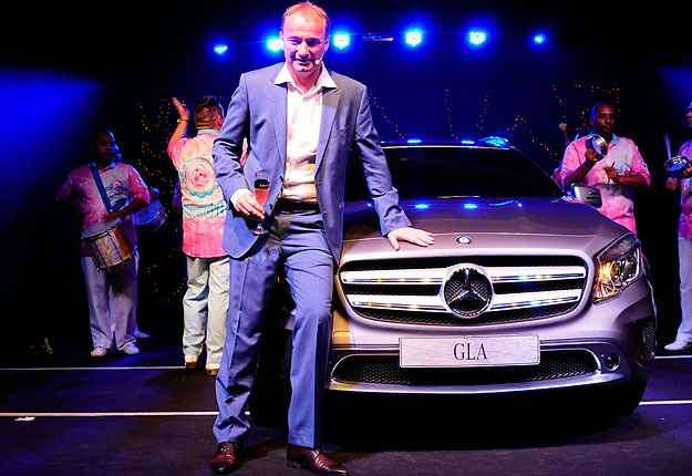 Philipp Schiemer, presidente da Mercedes-Benz do Brasil e CEO América Latina -  Rafael Jota/Divulgação