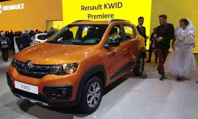O hatch compacto foi apresentado no Salão do Automóvel de Buenos Aires, em junho(foto: Pedro Cerqueira/EM/D.A Press)
