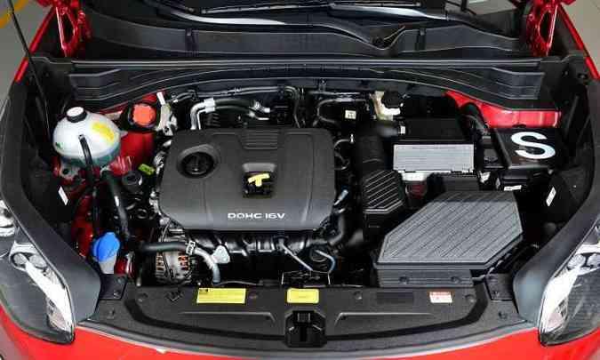 Motor 2.0 16v flex de até 167 está entre os mais potentes da classe(foto: Kia/Divulgação)