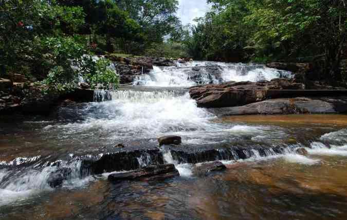 As belas cachoeiras de Bonito são o destino da vez(foto: Ricardo Fernandes/DP)