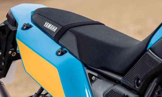 O banco é 20mm mais alto que o modelo convencional(foto: Yamaha/Divulgação)