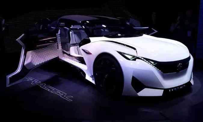 Peugeot Fractal Concept(foto: Pedro Cerqueira/EM/D.A Press)