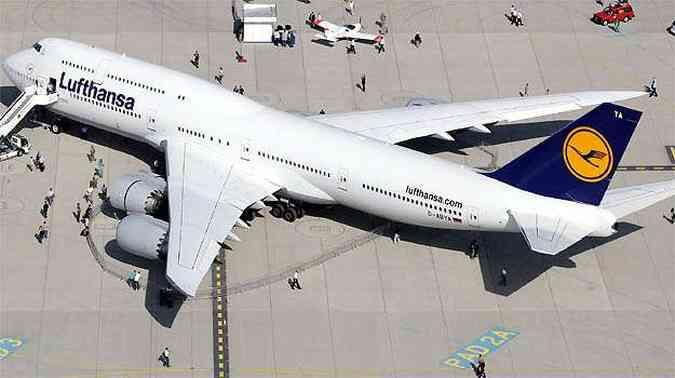 747-800,o maior avião da Boeing, já está autorizado a operar em Guarulhos(foto: REUTERS)