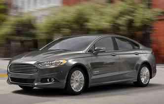 Fusion Hybrid é um dos mais econômicos(foto: Ford / Divulgação)