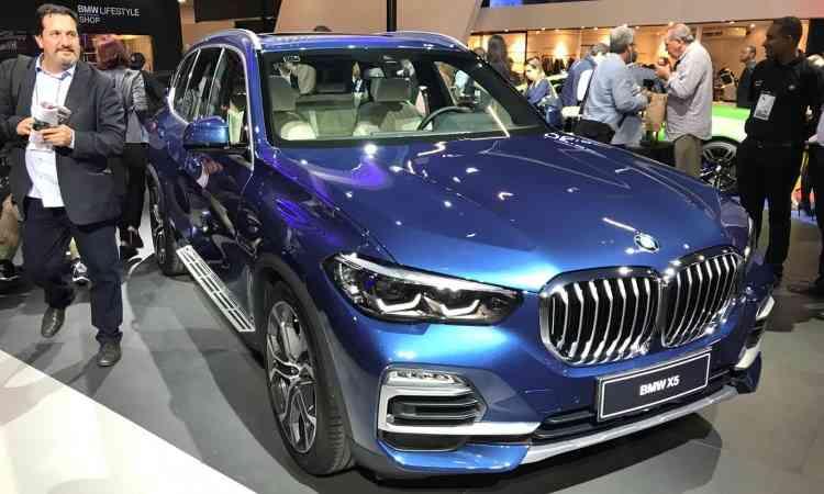 Nova geração do BMW X5 - Pedro Cerqueira/EM/D.A Press