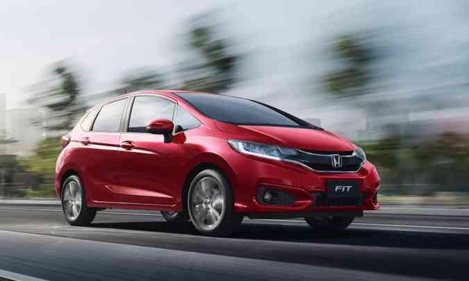 Junto ao Civic, Honda Fit ajudou a fazer o nome da marca no Brasil(foto: Honda/Divulgação)