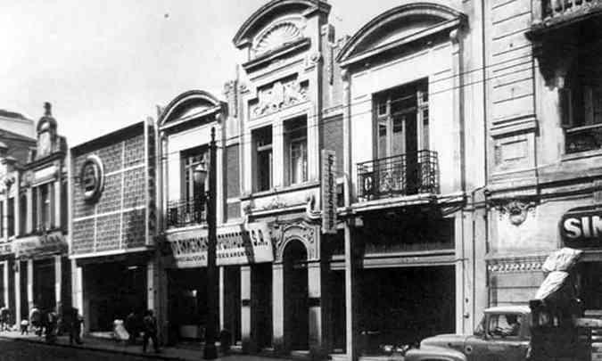 Primeira sede da filial brasileira, quando os Modelos T eram montados com peças importadas (foto: Ford/Divulgação)