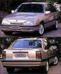 Omega tem dimensões generosas, 4,74m de comprimento e 2,73m de entre-eixos, que garantem o conforto de seus ocupantes até no banco traseiro - Fotos: Chevrolet/Divulgação