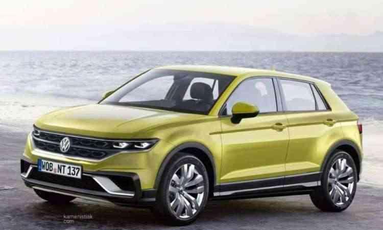 Novo SUV Volkswagen T-Cross vai desembarcar no Brasil no segundo semestre - Kamenistiak.com/Reprodução da Internet