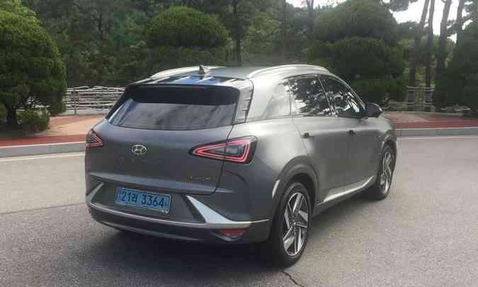 A Hyundai afirma que não existe intenção de trazer o Nexo para o Brasil por equanto(foto: Enio Greco/EM/D.A Press)