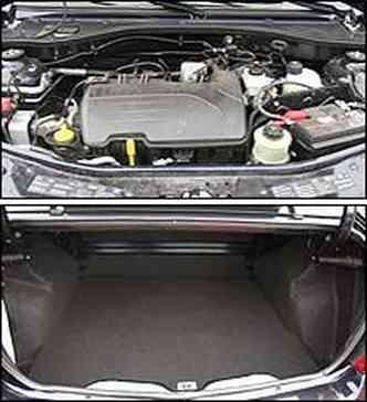 Motor é um dos pontos fracos do Renault e o espaçoso porta-malas é atrativo do modelo