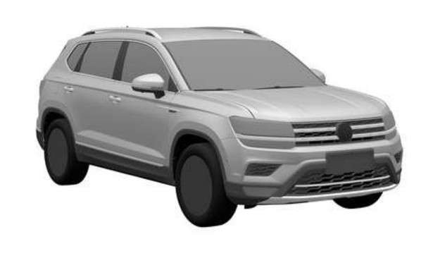 Desenho divulgado pela marca  - VW/ Divulgação