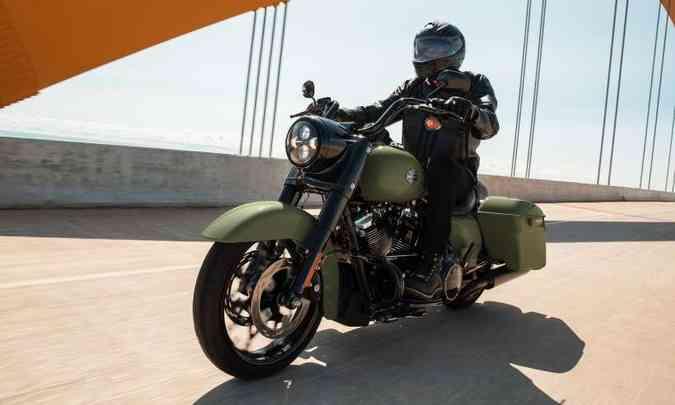 Harley-Davidson Touring Road King Special(foto: Harley-Davidson/Divulgação)